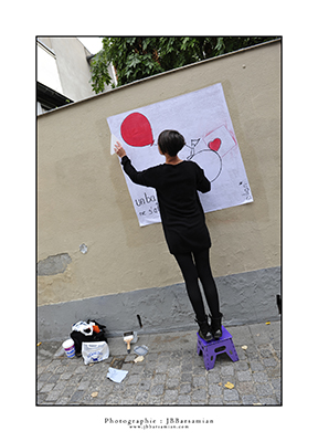 """Lisser"" Éphémère by Dilian- Paris - © photo JB Barsamian"