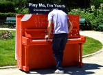 Play Me I'm Yours Paris - 21 juin 2014 - Jardin Marigny Champs Elysée - © photo JPM Graffiti